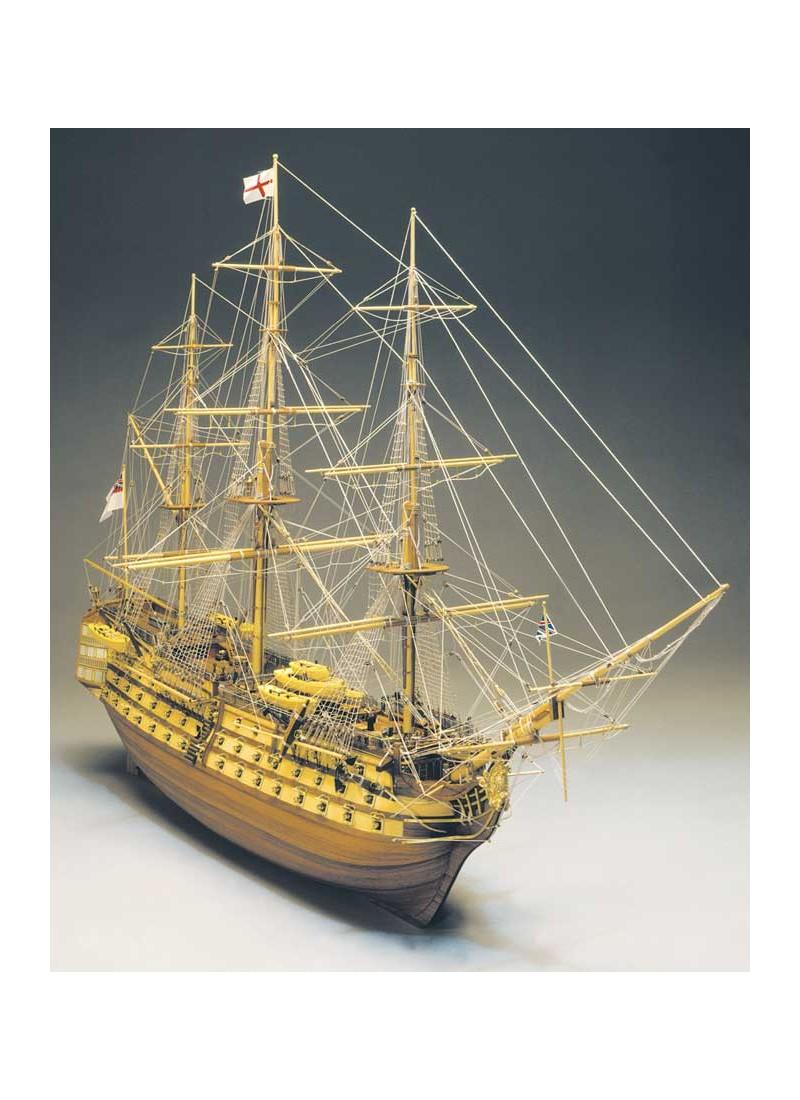 HMS Victory Mantua - scala 1/98-lunghezza mm 1100