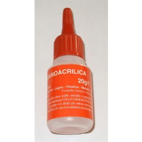 Cianoacrilato g 20 Rosso