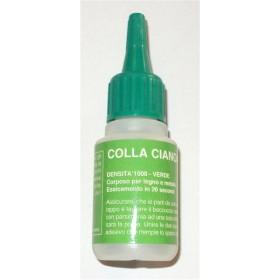 Cianoacrilato g. 20 Verde