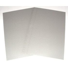 Brawa foglio muro ogni scala colore grigio tipo blocchi di pietra 2 pezzi