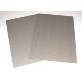Brawa foglio pavimentazione ogni scala colore grigio tipo Sanpietrini 2 pezzi