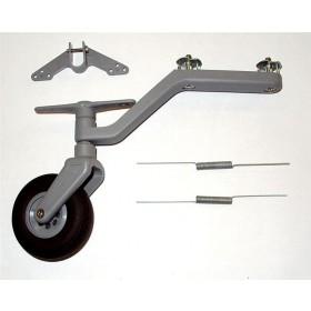 Carrello di coda orientabile+ruota