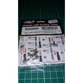 Uniball 5.8 mm filetto 6 mm