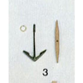 Ancora con ceppo mm 28x40 - Quantità 2