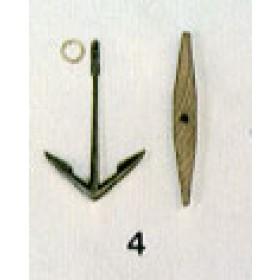 Ancora con ceppo mm 35x50 - Quantità 2