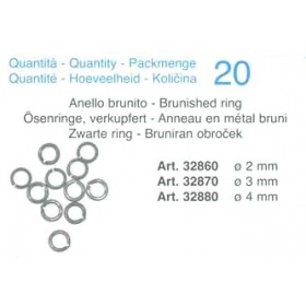 Anello brunito mm 3