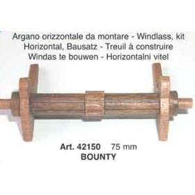 Argano orizzontale mm 75 - Quantità 1