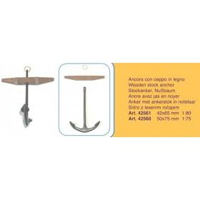 Ancora con ceppo mm 42x65 - Quantità 2