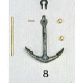 Ancora ammiragliato mm 38x50 - Cutty Sark - Quantità 1