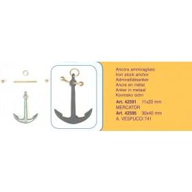 Ancora ammiragliato mm 30x40 - A. Vespucci 741 - Quantità 1