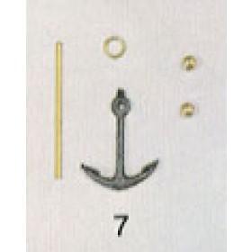 Ancora ammiragliato mm 25x34 - Thermopylae - A.Vespucci 799 - Quantità 1