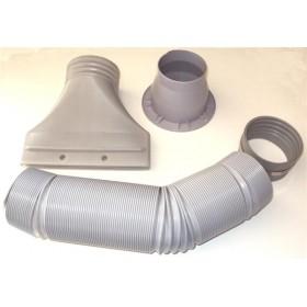 Set tubi di scarico per camera di verniciatura-art 4700460