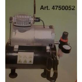 Mini compressore a pistone con serbatoio