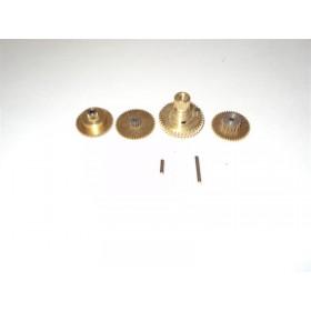 Serie ingranaggi in ottone x servo 57310