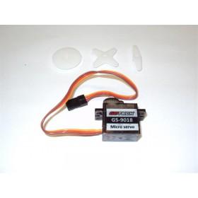 Micro servo kg 0,6 mm 20x8x19,6 peso gr 4,4