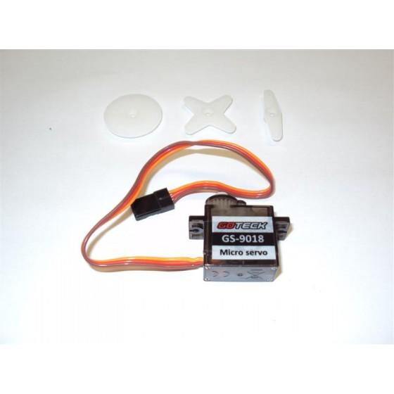 Micro servo kg 0,8 mm 21,4x11,5x22,8 peso gr 6