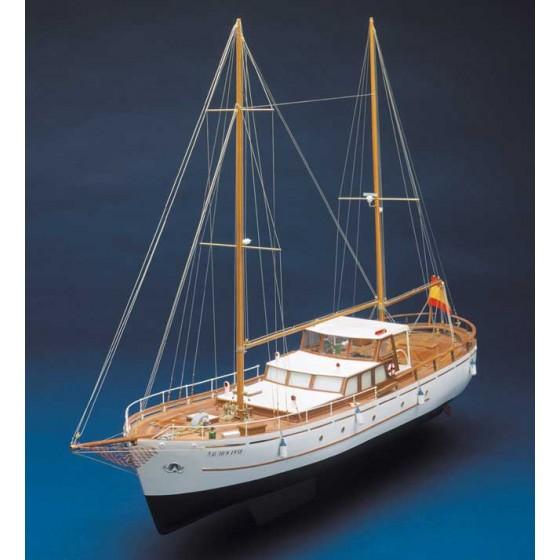 Bruma modello navigante scala 1:45 - lunghezza mm 860