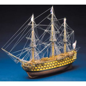 HMS Victory Panart - scala 1/78 corredata da PIASTRINE RAME