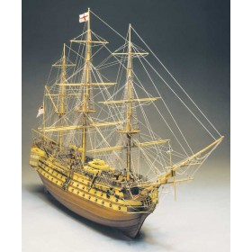 HMS Victory Mantua - scala 1/98-lunghezza mm 1100