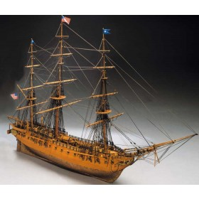 USS Constitution - scala 1/98-lunghezza mm960