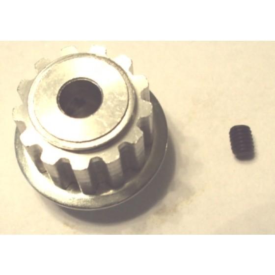 Intrepid puleggia in alluminio Z13