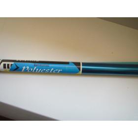 Polyester blu trasp.  2 mt
