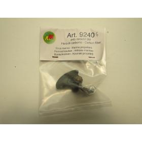 Elica bipala carbonio 5m 32x45