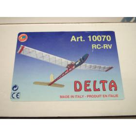 Delta RC-RV con micro servi e batterie