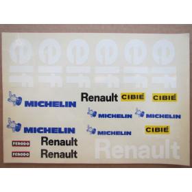 Decals Renault